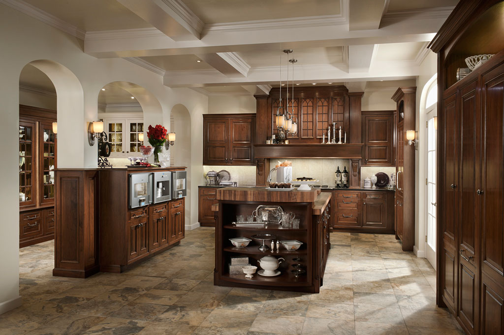 Wood-Mode cabinets