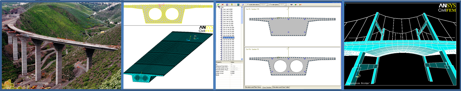 CivilFEM for Ansys Prestressed Reinforced Concrete Module