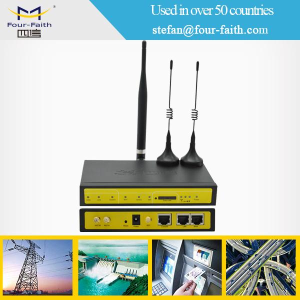 m2m plc vpn router with rj45 wan port