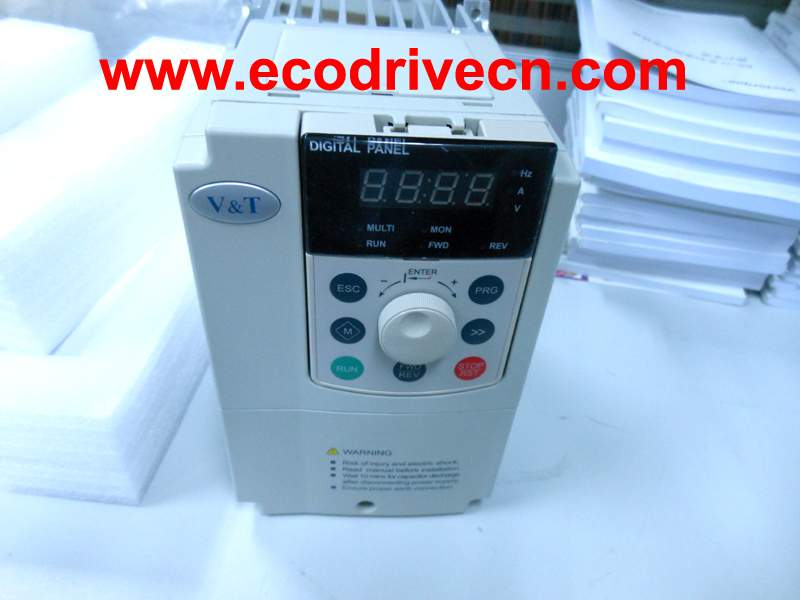 PID feedback closed loop control VFD for variable torque, light duty