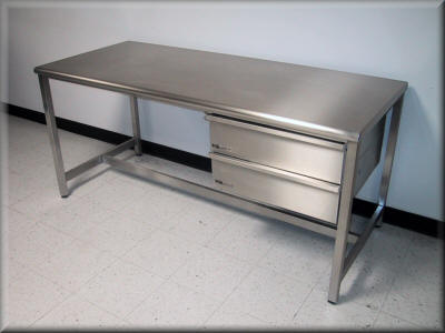 Table Model A-109P-SS - Stainless Steel Table