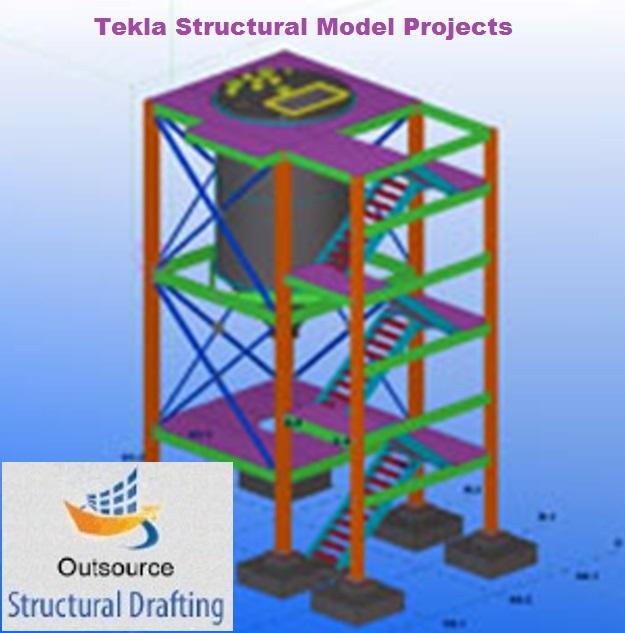 Structural Tekla Steel Detailing Services