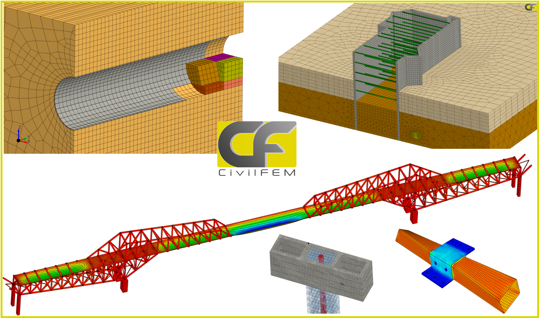 CivilFEM Intro powered by Marc